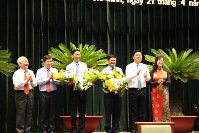 TPHCM có thêm 2 Phó Chủ tịch - ảnh 1