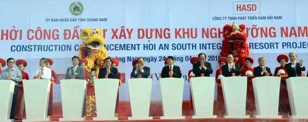 Cận cảnh khởi công hai dự án tỷ đô tại tỉnh Quảng Nam - ảnh 4