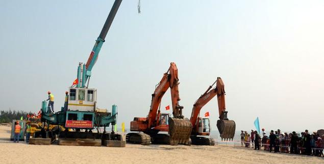 Cận cảnh khởi công hai dự án tỷ đô tại tỉnh Quảng Nam - ảnh 5