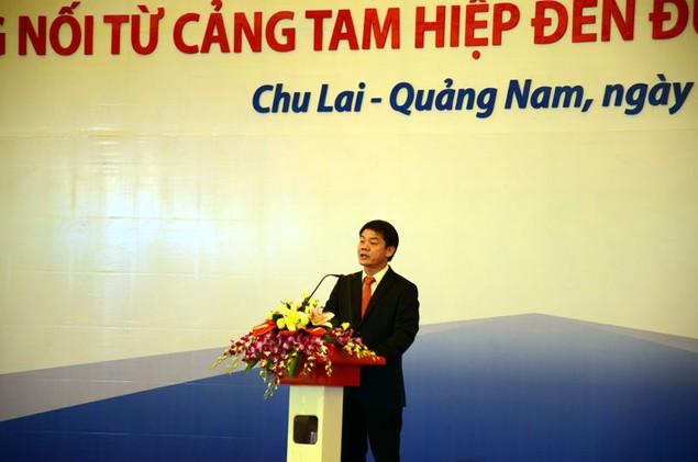 Cận cảnh khởi công hai dự án tỷ đô tại tỉnh Quảng Nam - ảnh 7