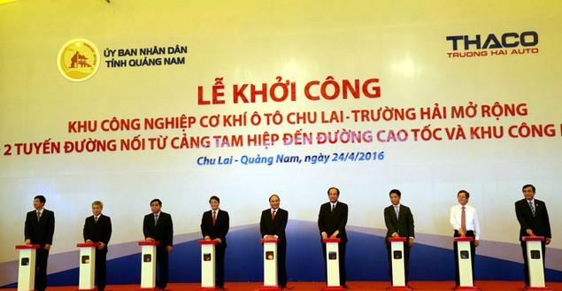 Cận cảnh khởi công hai dự án tỷ đô tại tỉnh Quảng Nam - ảnh 8