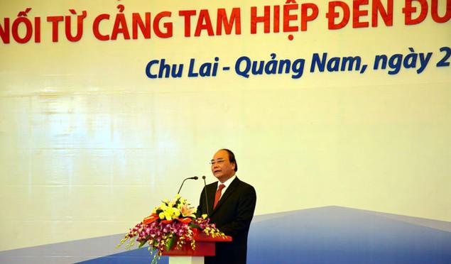 Cận cảnh khởi công hai dự án tỷ đô tại tỉnh Quảng Nam - ảnh 1