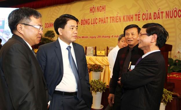 Những hình ảnh tại buổi đối thoại giữa Thủ tướng với doanh nghiệp - ảnh 11