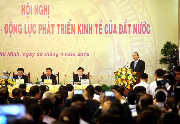 Những hình ảnh tại buổi đối thoại giữa Thủ tướng với doanh nghiệp - ảnh 3