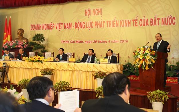 Những hình ảnh tại buổi đối thoại giữa Thủ tướng với doanh nghiệp - ảnh 5