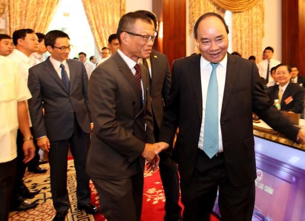 Những hình ảnh tại buổi đối thoại giữa Thủ tướng với doanh nghiệp - ảnh 8