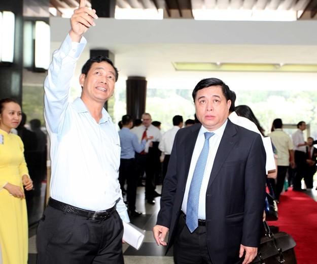 Những hình ảnh tại buổi đối thoại giữa Thủ tướng với doanh nghiệp - ảnh 10