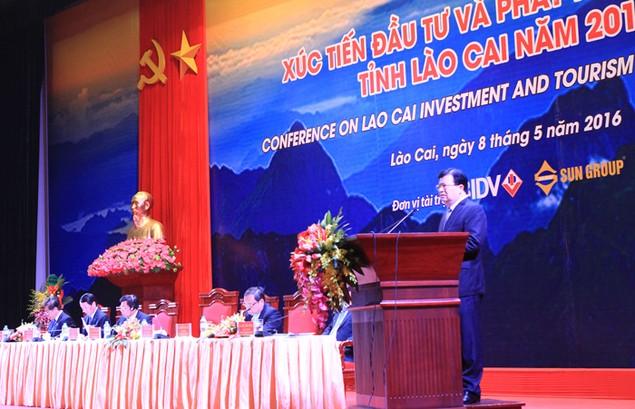 Đẩy mạnh xúc tiến đầu tư và quảng bá du lịch Lào Cai - ảnh 1