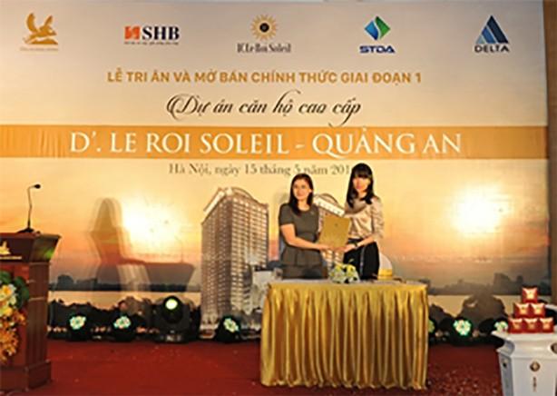 D'. Le Roi Soleil – Quảng An: 60% số lượng căn hộ đã có chủ - ảnh 2