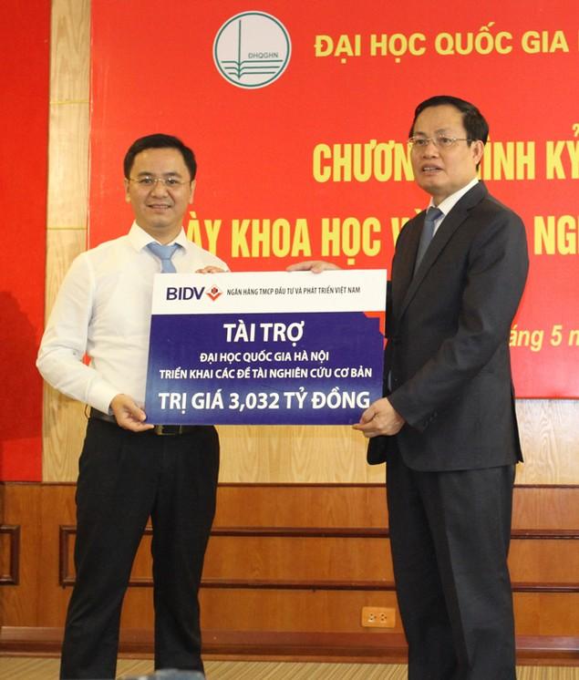 BIDV tài trợ Đại học Quốc gia Hà Nội triển khai các đề tài nghiên cứu khoa học - ảnh 1