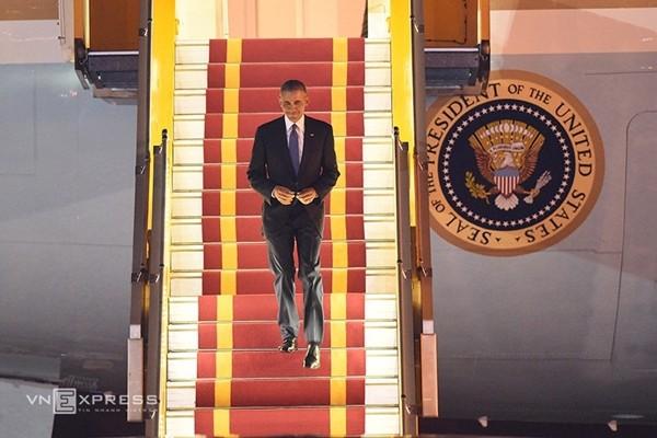 Lễ đón Tổng thống Mỹ Obama tại Phủ Chủ tịch - ảnh 16