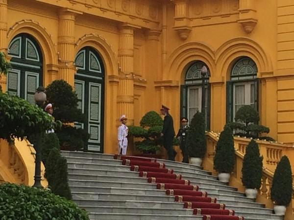 Lễ đón Tổng thống Mỹ Obama tại Phủ Chủ tịch - ảnh 8