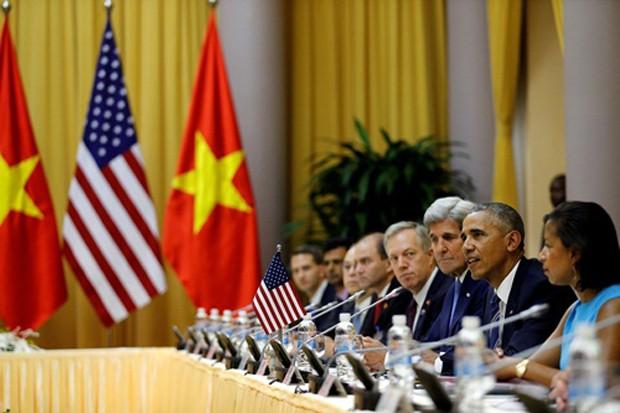 Việt - Mỹ ký một loạt văn kiện - ảnh 2