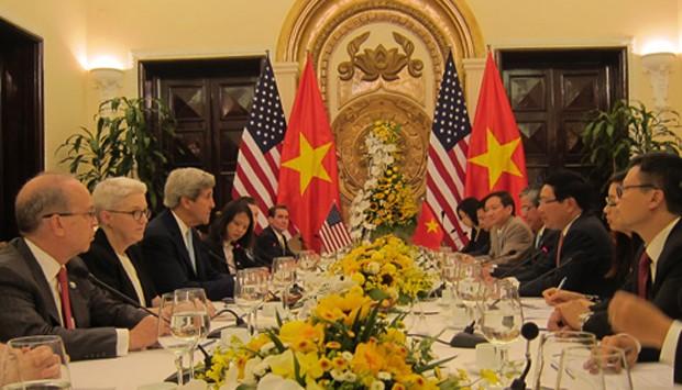 Việt - Mỹ ký thỏa thuận về chương trình hòa bình - ảnh 1