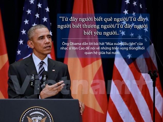 Những câu nói hay nhất trong bài diễn văn của ông Obama - ảnh 2