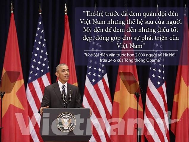 Những câu nói hay nhất trong bài diễn văn của ông Obama - ảnh 3