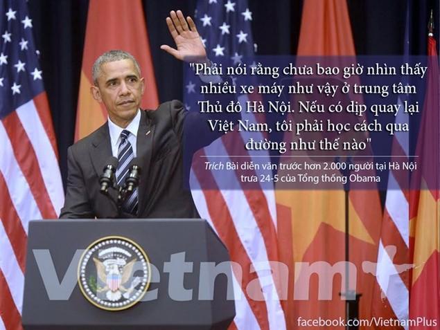 Những câu nói hay nhất trong bài diễn văn của ông Obama - ảnh 5