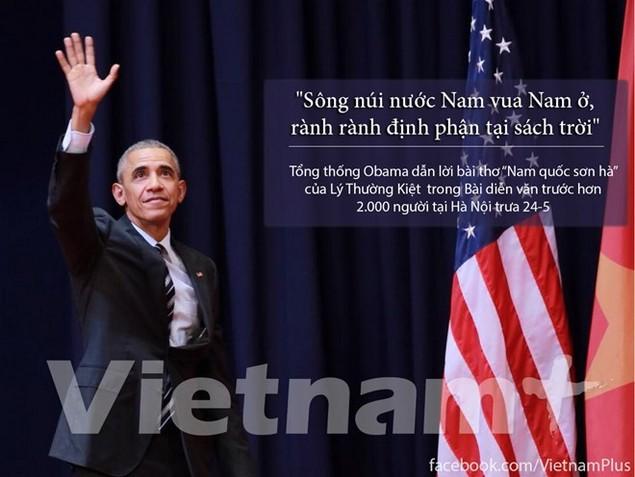 Những câu nói hay nhất trong bài diễn văn của ông Obama - ảnh 1