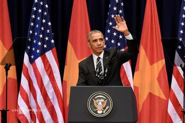 Tổng thống Obama: 'Sự thân thiện của Việt Nam đã chạm tới trái tim tôi' - ảnh 1