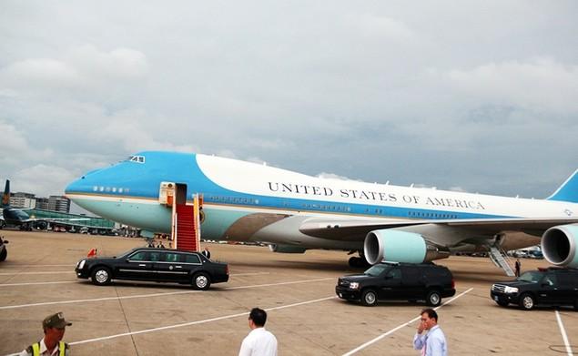 Buổi chiều của Tổng thống Obama tại TP HCM - ảnh 1