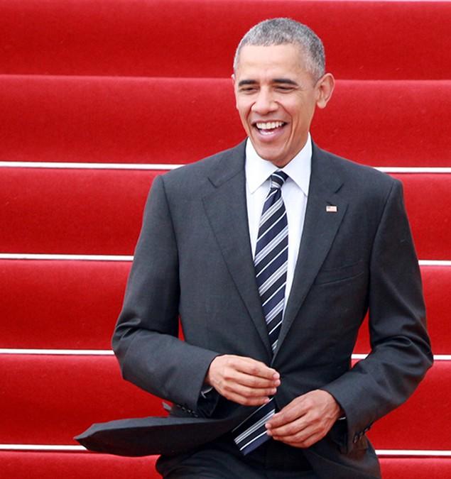Buổi chiều của Tổng thống Obama tại TP HCM - ảnh 2
