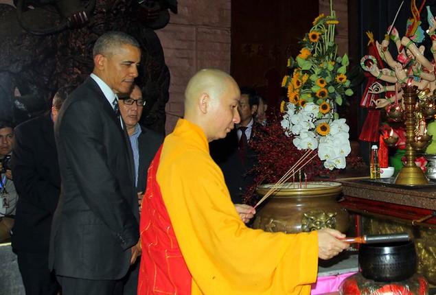 Buổi chiều của Tổng thống Obama tại TP HCM - ảnh 5