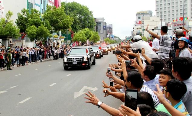 Buổi chiều của Tổng thống Obama tại TP HCM - ảnh 8