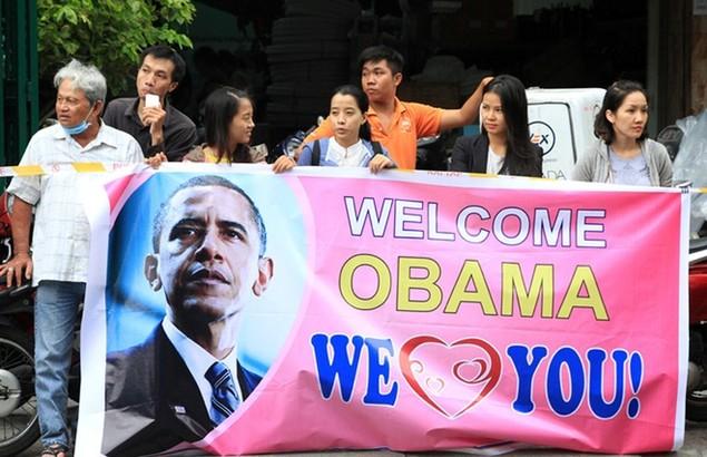 Buổi chiều của Tổng thống Obama tại TP HCM - ảnh 9