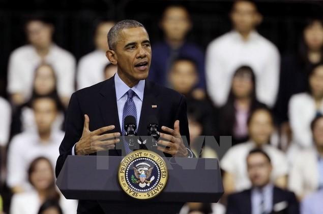 Ông Barack Obama giao lưu với hơn 600 thành viên YSEALI - ảnh 2