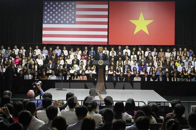 Ông Barack Obama giao lưu với hơn 600 thành viên YSEALI - ảnh 3