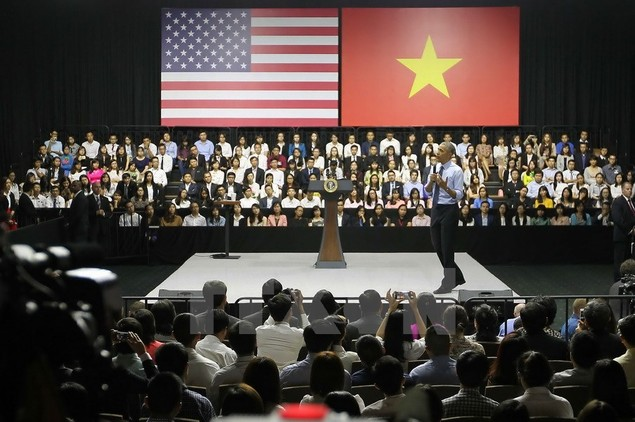 Ông Barack Obama giao lưu với hơn 600 thành viên YSEALI - ảnh 4