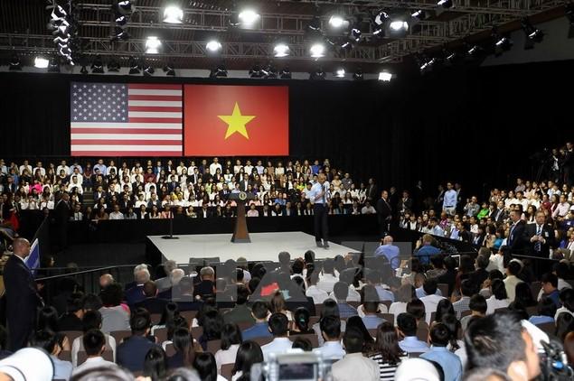 Ông Barack Obama giao lưu với hơn 600 thành viên YSEALI - ảnh 5