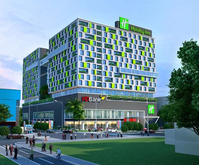IHG công bố khách sạn quốc tế thương hiệu Holiday Inn & Suites đầu tiên tại TP.HCM - ảnh 1