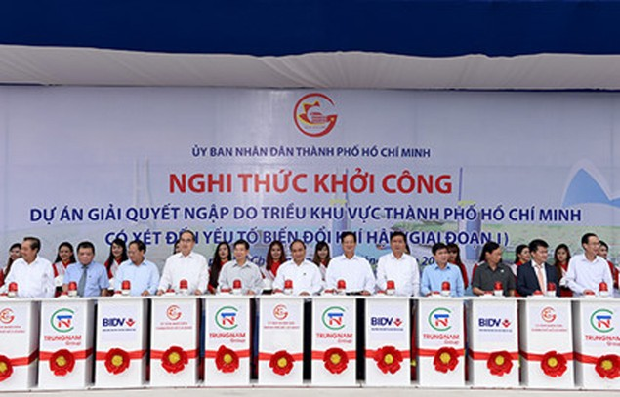 Khởi công dự án bệnh viện gần 6.000 tỷ đồng và dự án chống ngập 10.000 tỷ đồng tại TPHCM - ảnh 1