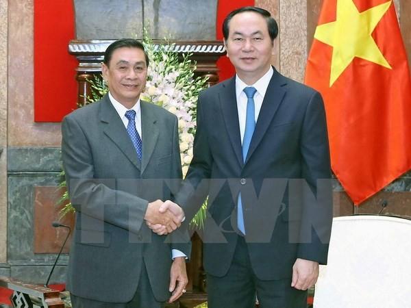 Việt Nam hỗ trợ Lào hết sức mình tổ chức Năm ASEAN 2016 - ảnh 1
