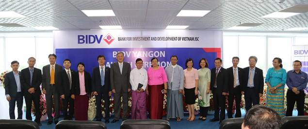 BIDV được cấp phép chính thức thành lập chi nhánh tại Myanmar - ảnh 1