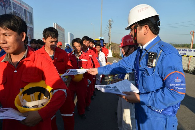 Nhà máy Lọc dầu Dung Quất đạt 7,4 triệu giờ công an toàn - ảnh 1