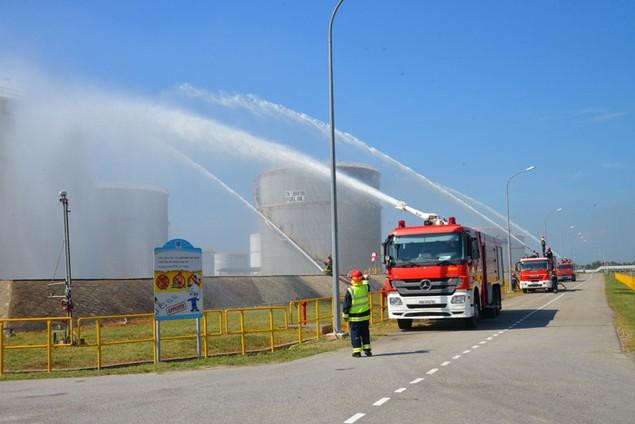 Nhà máy Lọc dầu Dung Quất đạt 7,4 triệu giờ công an toàn - ảnh 3
