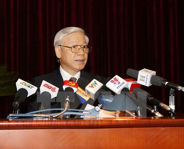 Khai mạc Hội nghị lần thứ ba Ban Chấp hành Trung ương Đảng - ảnh 1