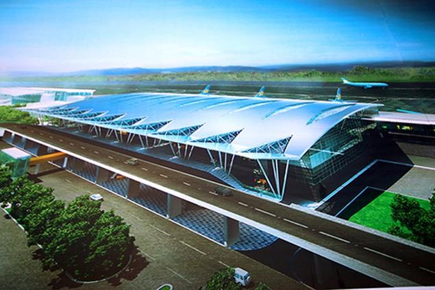 Cận cảnh tiến độ thi công Nhà ga – Cảng hàng không quốc tế Đà Nẵng trước thềm APEC 2017 - ảnh 11