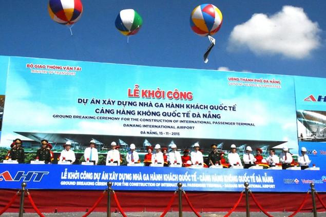 Cận cảnh tiến độ thi công Nhà ga – Cảng hàng không quốc tế Đà Nẵng trước thềm APEC 2017 - ảnh 1