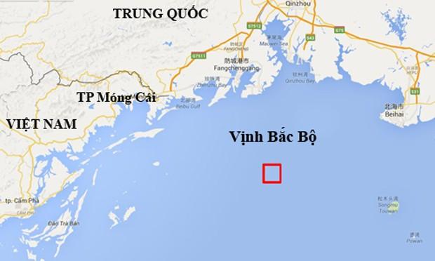 Trung Quốc sắp diễn tập bắn đạn thật ở vịnh Bắc Bộ - ảnh 1