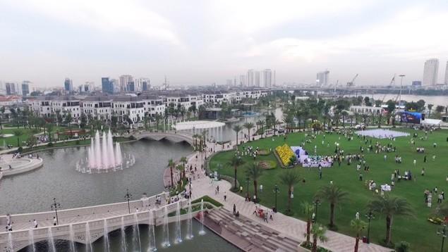 Khánh thành công viên ven sông lớn nhất Sài Gòn - ảnh 9