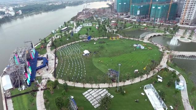 Khánh thành công viên ven sông lớn nhất Sài Gòn - ảnh 1