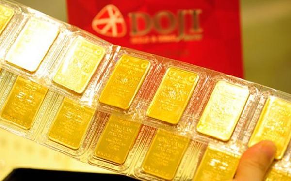 Giá vàng sụt giảm - ảnh 1