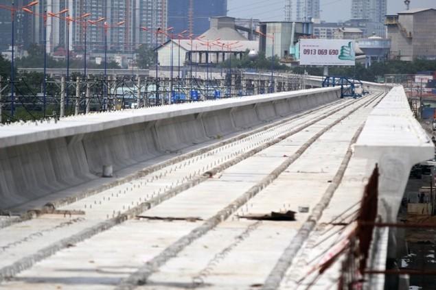 Tuyến Metro đầu tiên của TP HCM dần thành hình - ảnh 2