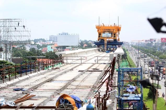 Tuyến Metro đầu tiên của TP HCM dần thành hình - ảnh 4