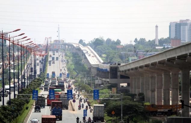 Tuyến Metro đầu tiên của TP HCM dần thành hình - ảnh 11