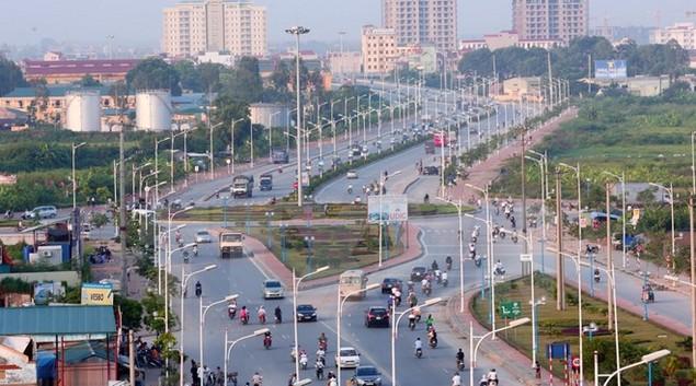 Khởi công xây cầu vượt nút giao đường Cổ Linh-cầu Vĩnh Tuy - ảnh 1