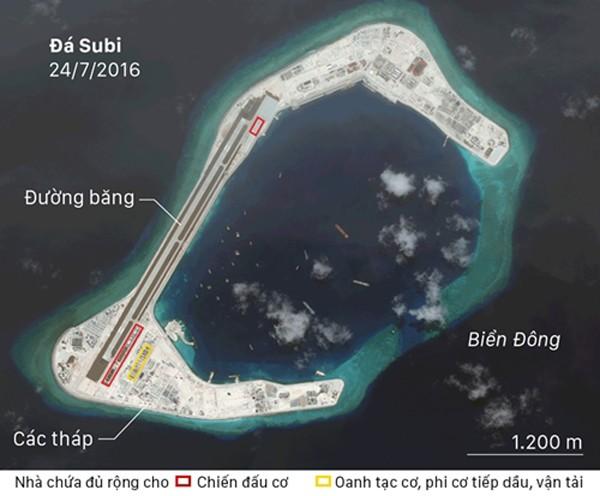 Ảnh tố Trung Quốc thất hứa, vẫn quân sự hóa Biển Đông - ảnh 1